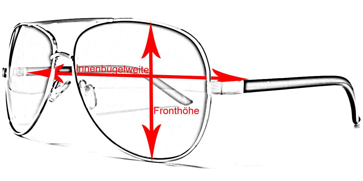 Wie man an einer Sonnenbrille richtig Maß nimmt