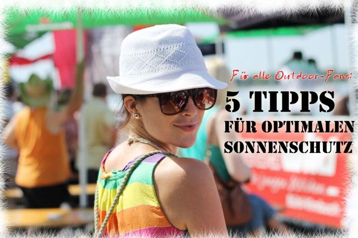 5 Tipps für optimalen Sonnenschutz
