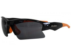 Sportbrille 210 schwarz orange