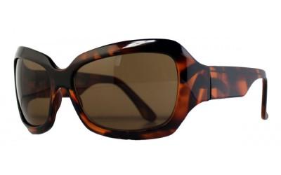 Oversize Sonnenbrille demi braun PLEYWGlFms