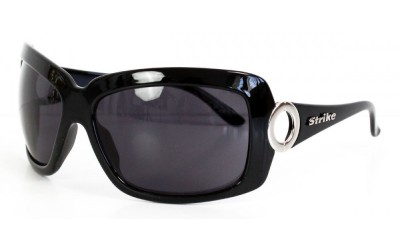 Strike Oversize Sonnenbrille schwarz Q5L3hc9GZ