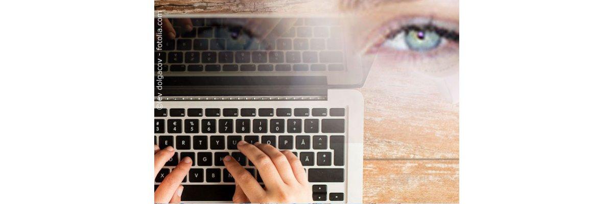 """Vorsicht vor der """"digitalen Krankheit"""": 5 Fehler, die Du bei der Bildschirm-Arbeit vermeiden solltest -"""
