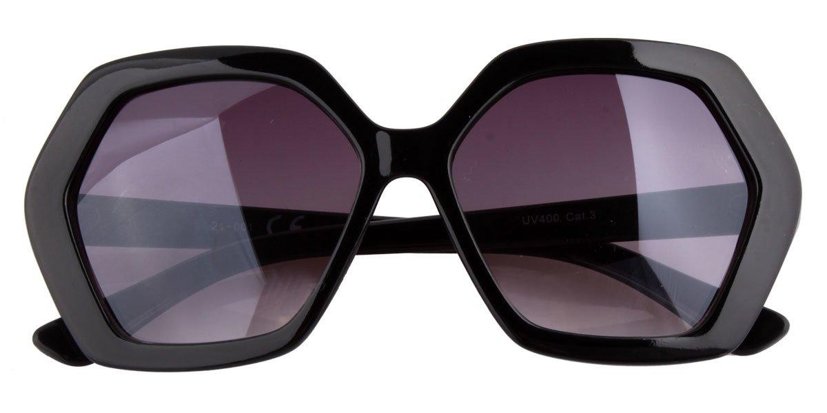 XL Sonnenbrille schwarz