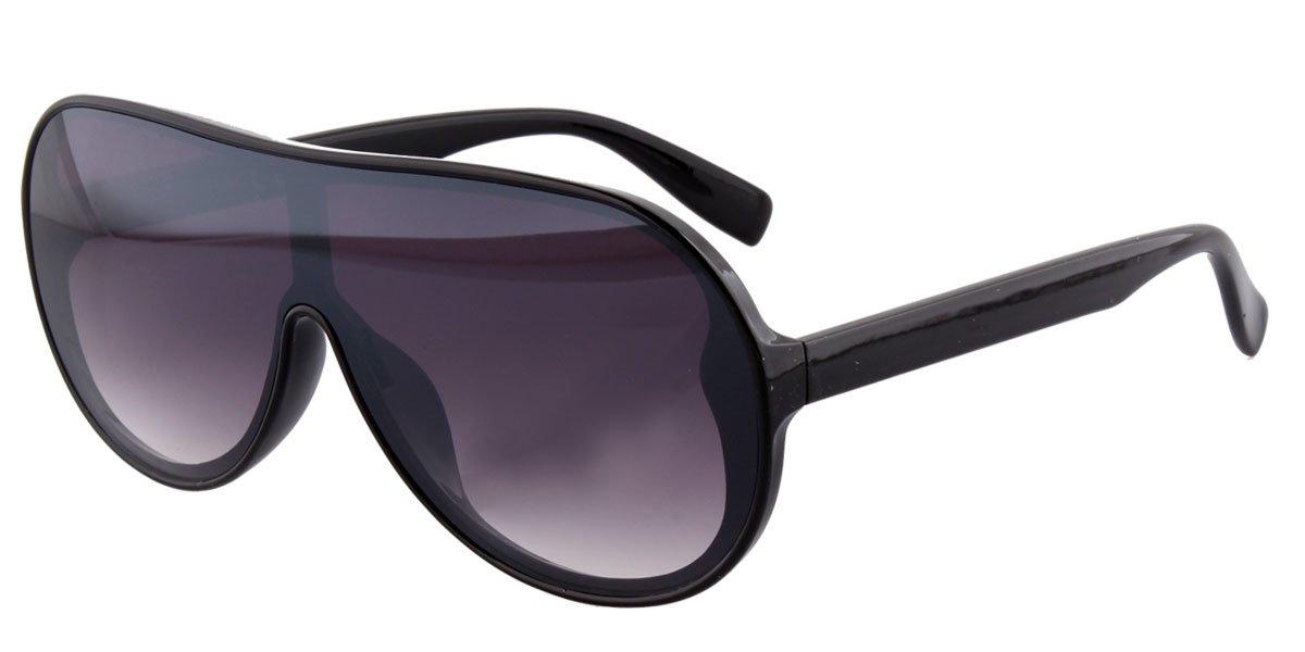 Große Sonnenbrille schwarz