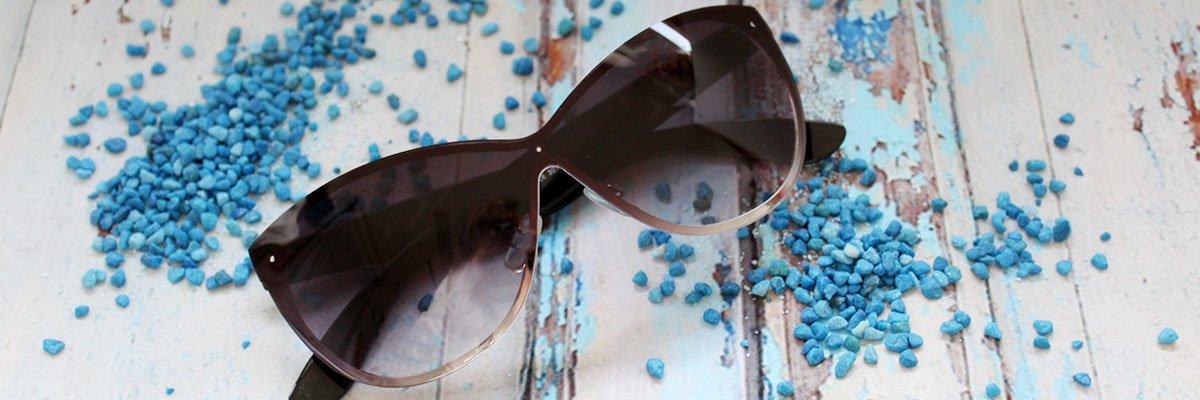 Sonnenbrille im Cateye-Stil