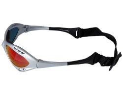 Sportbrille 078 silber mit Kopfband