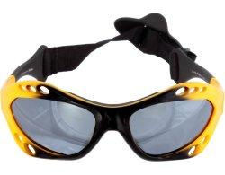 Sportbrille 078 gelb mit Kopfband