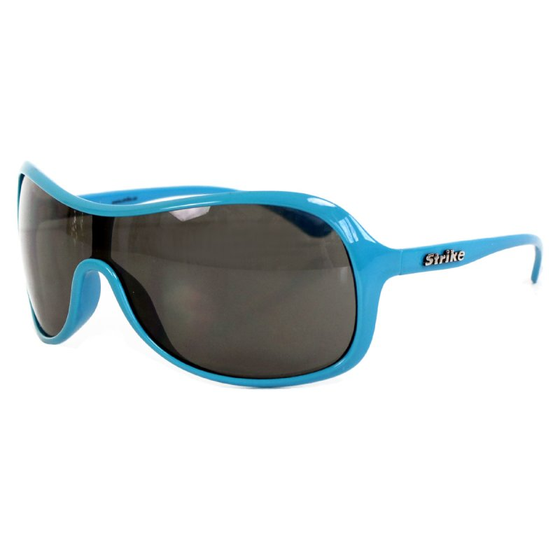 Oversize Sonnenbrille blau