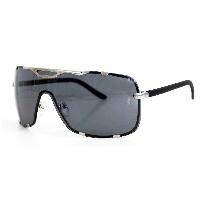 Oversize Sonnenbrille No. 1 silber
