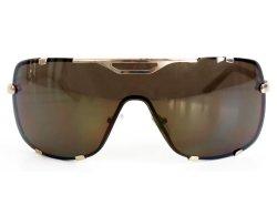 Oversize Sonnenbrille No. 1 gold braun