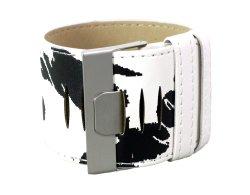 Armband TIGER schwarz weiß