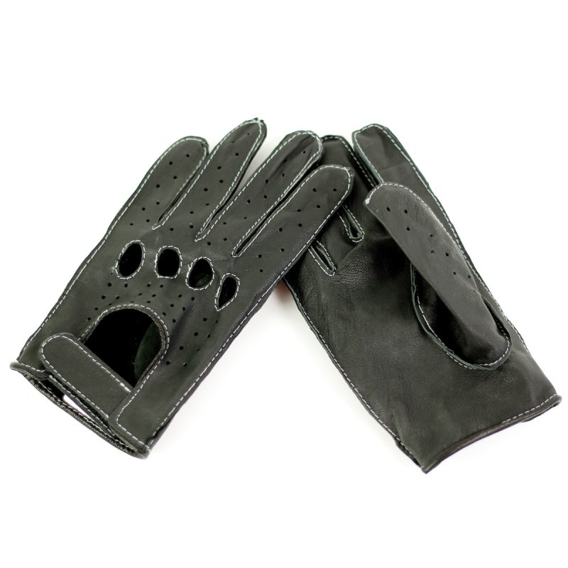 Bikerhandschuhe schwarz