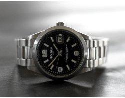 Edelstahl Armbanduhr PROFESSIONAL EDITION 7777 silber