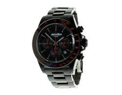 Edelstahl Armbanduhr PROFESSIONAL EDITION 7777 schwarz