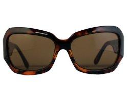 Oversize Sonnenbrille demi braun