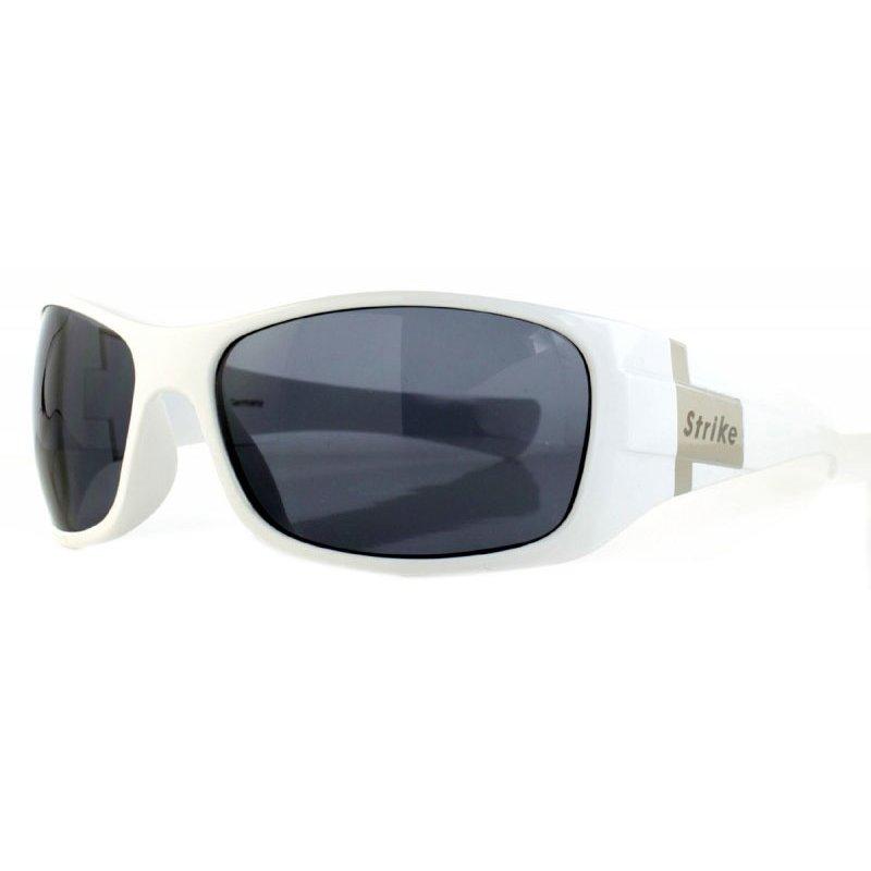 Oversize Sonnenbrille weiß