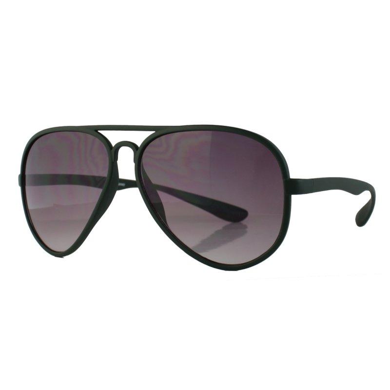 Sonnenbrille im Piloten-Style army grün