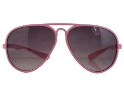 Sonnenbrille im Piloten-Style rosa