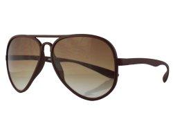 Sonnenbrille im Piloten-Style braun