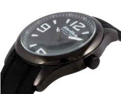 Armbanduhr RUBBER schwarz