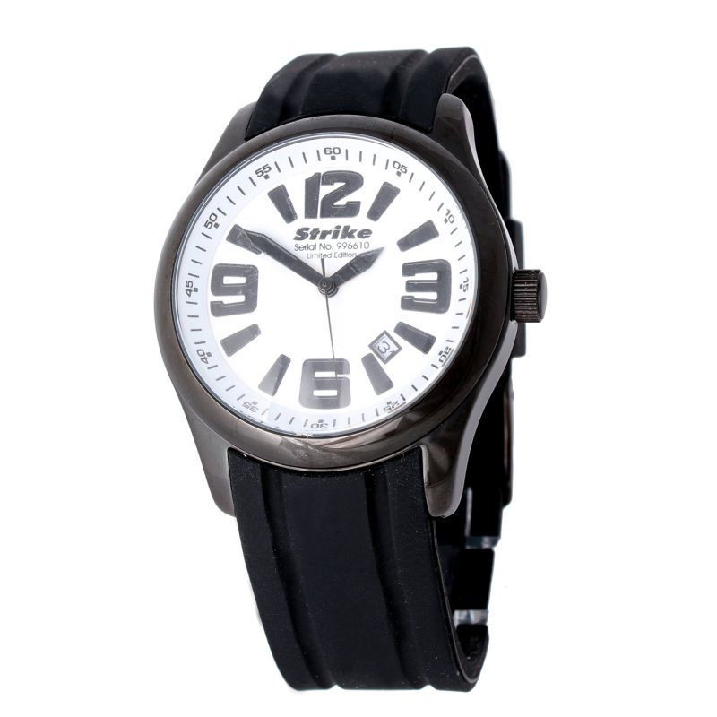 Armbanduhr RUBBER weiß