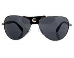 Pilotenbrille 147 mit abnehmbarem Leder-Detail