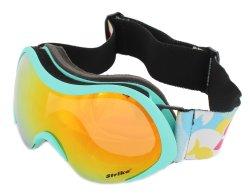 Ski- und Snowboardbrille 40010 mit Elastik-Kopfband...