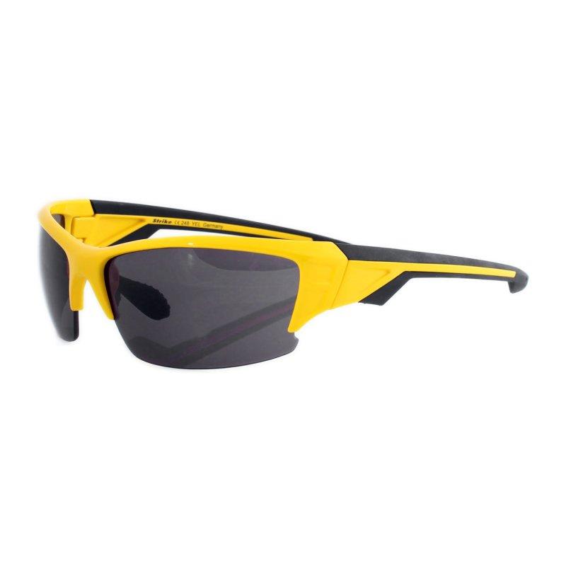 Sportbrille 248 gelb schwarz