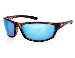 Sportbrille 223 demi verspiegelt blau