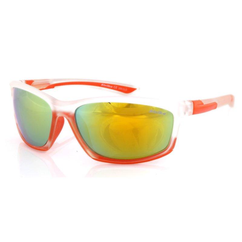 Sonnenbrille 255 orange-clear - grün verspiegelt
