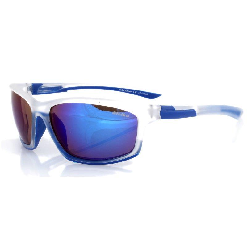 Sonnenbrille 255 blau-clear - blau verspiegelt