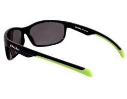 Sportbrille 256 schwarz - neongrün