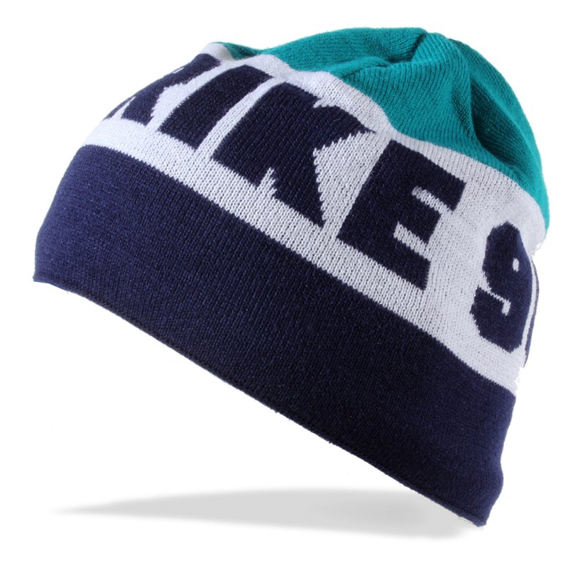 Mütze STRIKE 96 blau weiß petrol