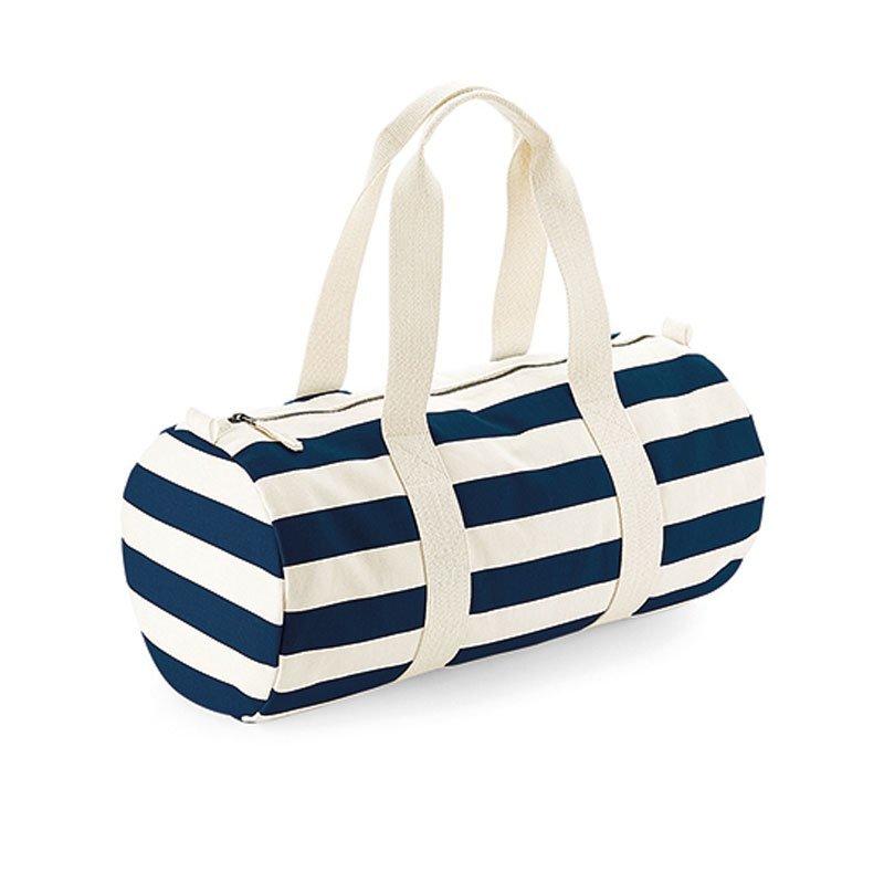 Segeltuch Barrel Bag im Nautical Style