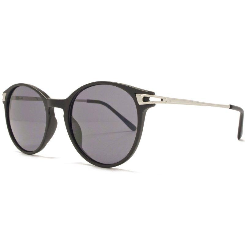 Runde Sonnenbrille mit Metallbügeln