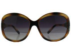 Oversize Sonnenbrille havanna braun