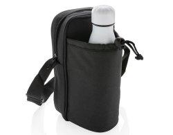 Crossbody Umhängetasche mit Flaschen-Kühlfach schwarz
