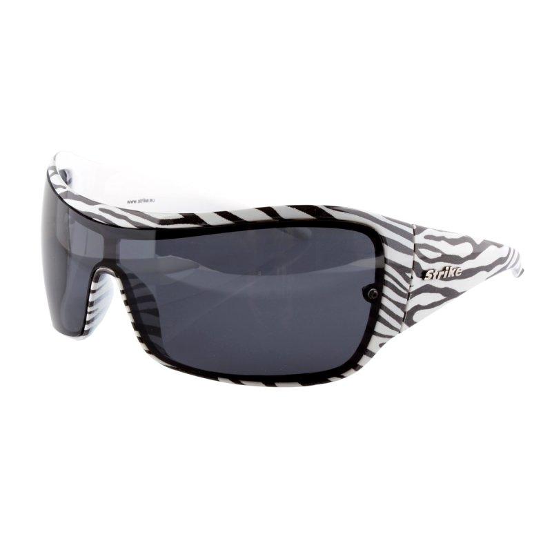 Oversize Sonnenbrille im Zebra-Look