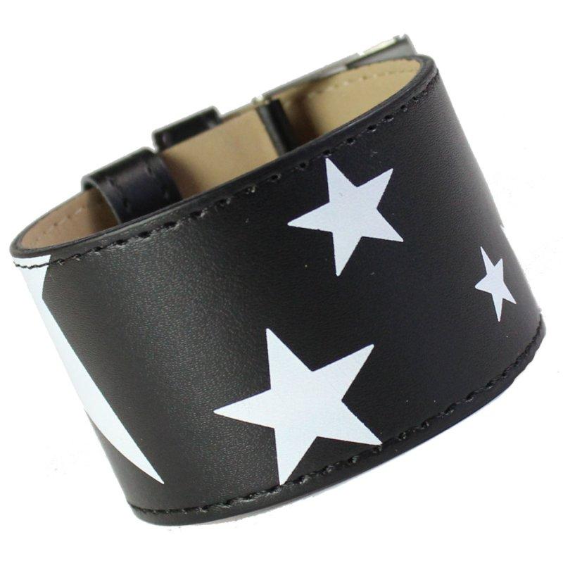 Armband STARS schwarz weiß